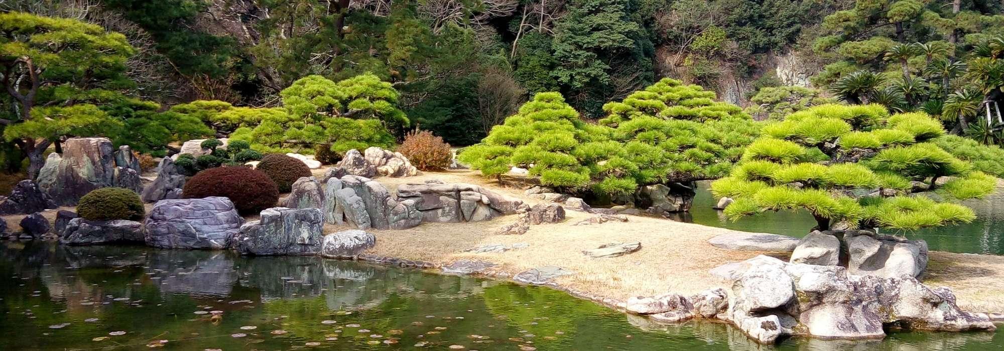 creer un jardin japonais ou jardin zen