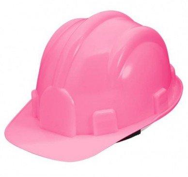 CAPACETE PRO SAFETY C SUSP - ROSA - Prometal EPIs - Equipamentos de Proteção  Individual 53d6be941a