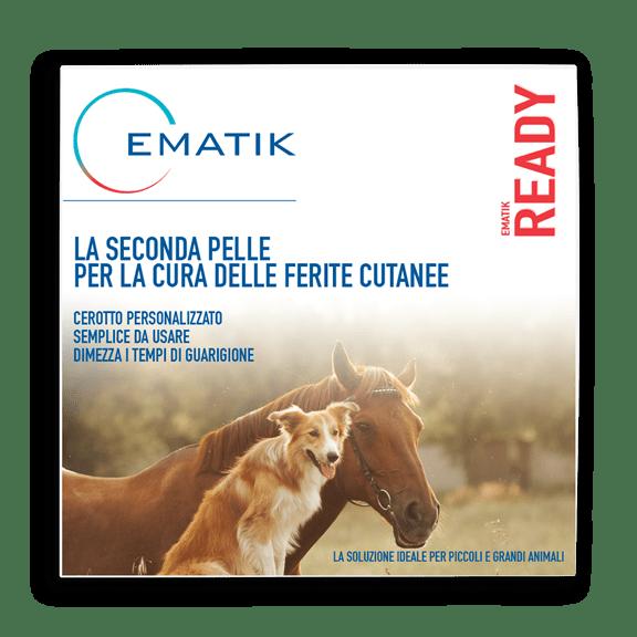 Ematik Ready Cerotto per la cura di ferite di cani e cavalli