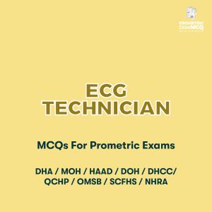 ECG Technician MCQs For Prometric Exams