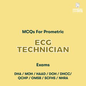 MCQs For Prometric ECG Technician Exams