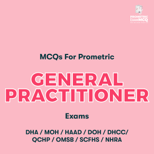 MCQs For Prometric General Practitioner (GP) Exams