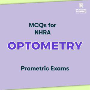 MCQs for NHRA Optometry Prometric Exams