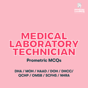Medical Laboratory Technician Prometric MCQs
