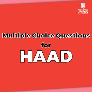Multiple Choice Questions for HAAD