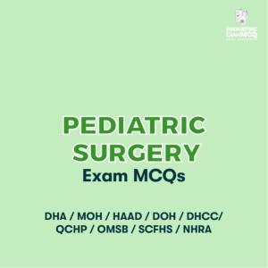 Pediatric Surgery Exam MCQs
