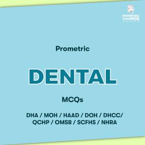Prometric Dental MCQs