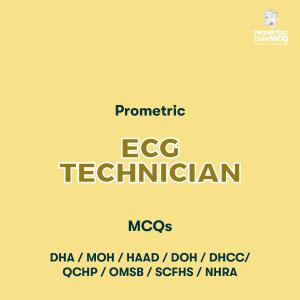 Prometric ECG Technician MCQs