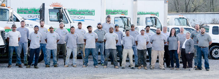 The Promier Landscapes Team
