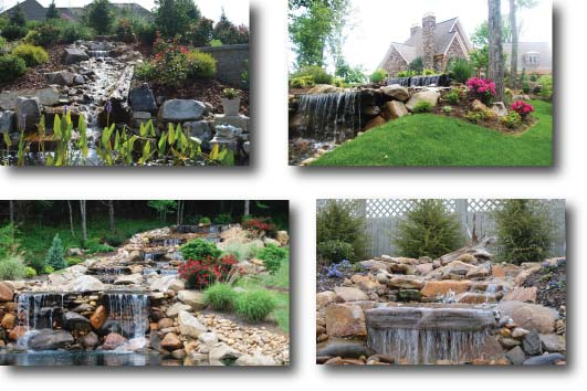 Ponds, Waterfalls and Fountain Design and Construction Kingsport, Johnson City and Bristol