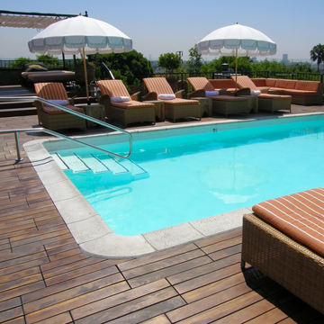 technology for in ground pool