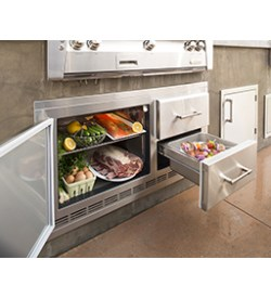 7_25 Cu Ft Under Grill Refrigerator