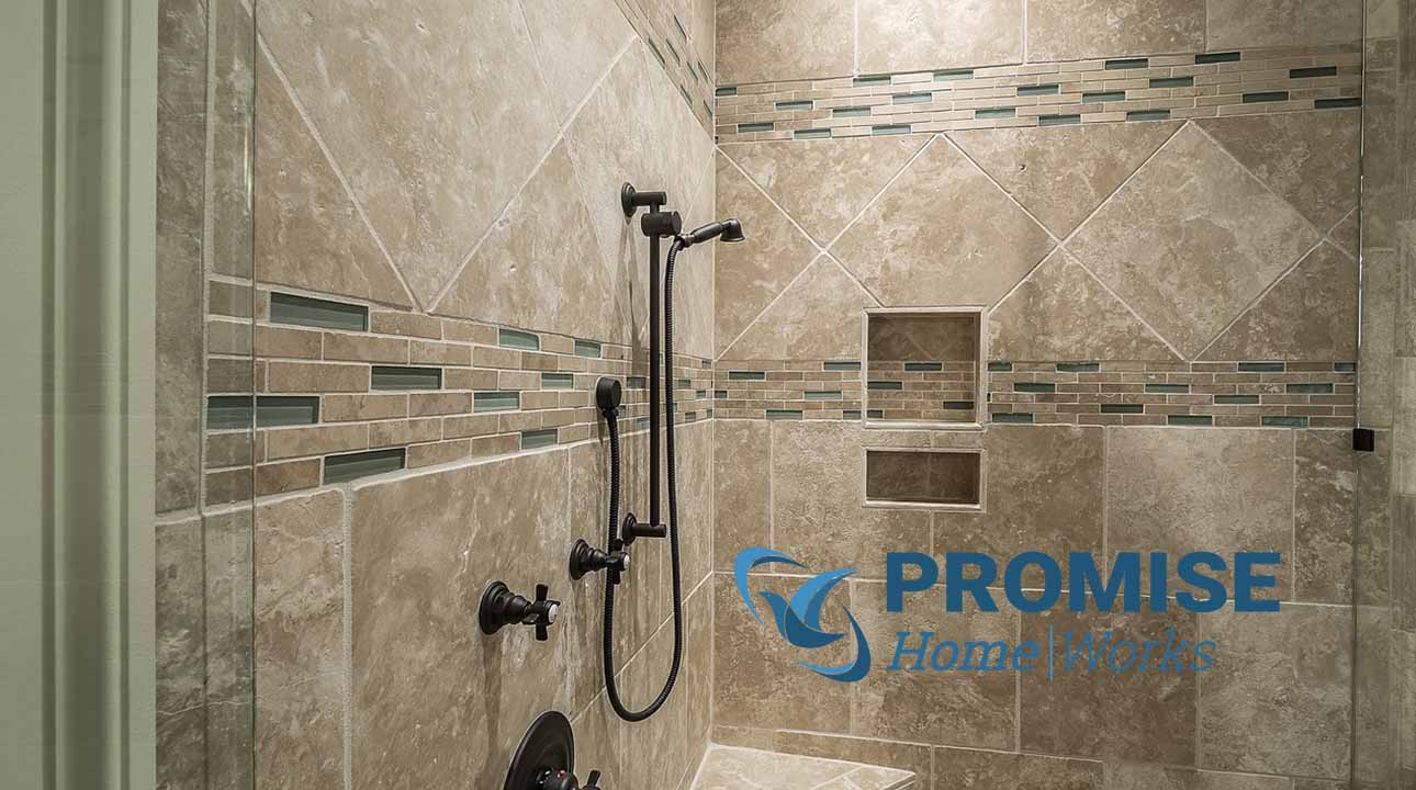tile on your shower walls promise