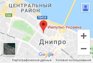 Импульс-Украина Google Maps