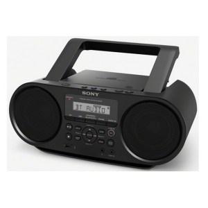 RADIOS ET LECTEURS CD PORTABLES Sony Boombox CD avec Bluetooth ZS-RS60BT pas cher