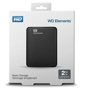 Disque Dur Externe Portable 2 To Western Digital  - USB 3.0