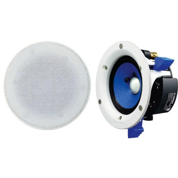 Haut Parleur Yamaha Enceinte Encastrable Mur Ou Plafond Double Couche De 4 Promo Sn
