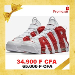 Nike Air More Uptempo Olympic rouge Authentique