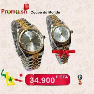 Montre Rolex Homme + montre rolex femme offerte