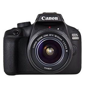 Canon EOS 4000D Appareil photo numérique Réflex Résolution 18,0 Mpx + Objectif
