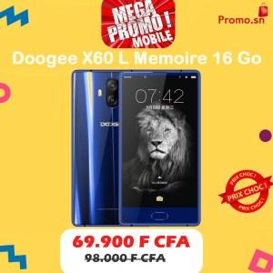Doogee Mix Lite Memoire 16 Go Ram 2 Go Connexion 4G Ecran 5.2 pouces