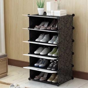Meuble à Chaussures Modulable 5 étagères Cubes DIY