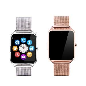 Smart Watch Téléphone Bluetooth Support En Acier Inoxydable SIM for Android