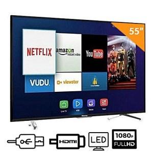 Télévision Hisense LED 50 Pouces Smart TV 4K Ultra HD RD