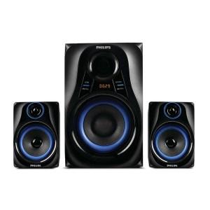 Home cinéma Woofer Philips 20 W FM tuner Bluetooth MMS2580B