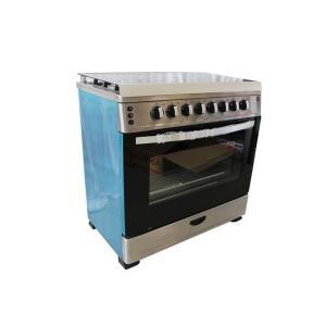 Cuisinière 5 feux Elbee dimension 90x60 Inox Lb950-60x90