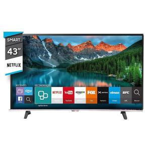 """Télévision Continental 43"""" pouces Smart TV (106 cm) LED HD Np"""