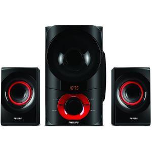 Home cinéma Woofer Philips Puissance 60 W Tuner FM Multimedia Speakers 2.1