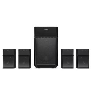 Home cinéma Philips Puissance 80 W Tuner FM Bluetooth Multimedia speaker 4.1