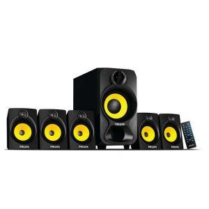 Home cinéma Woofer Philips 28 W FM tuner Bluetooth Multimedia Speaker 5.1