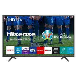 Télévision Hisense 49 pouces (125 cm) Ultra HD HDR Smart TV Netflix, Youtube
