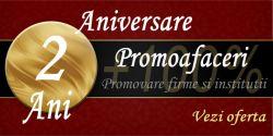 Campanie aniversara de la Promoafaceri.com: dublu la publicitatea online pana in martie