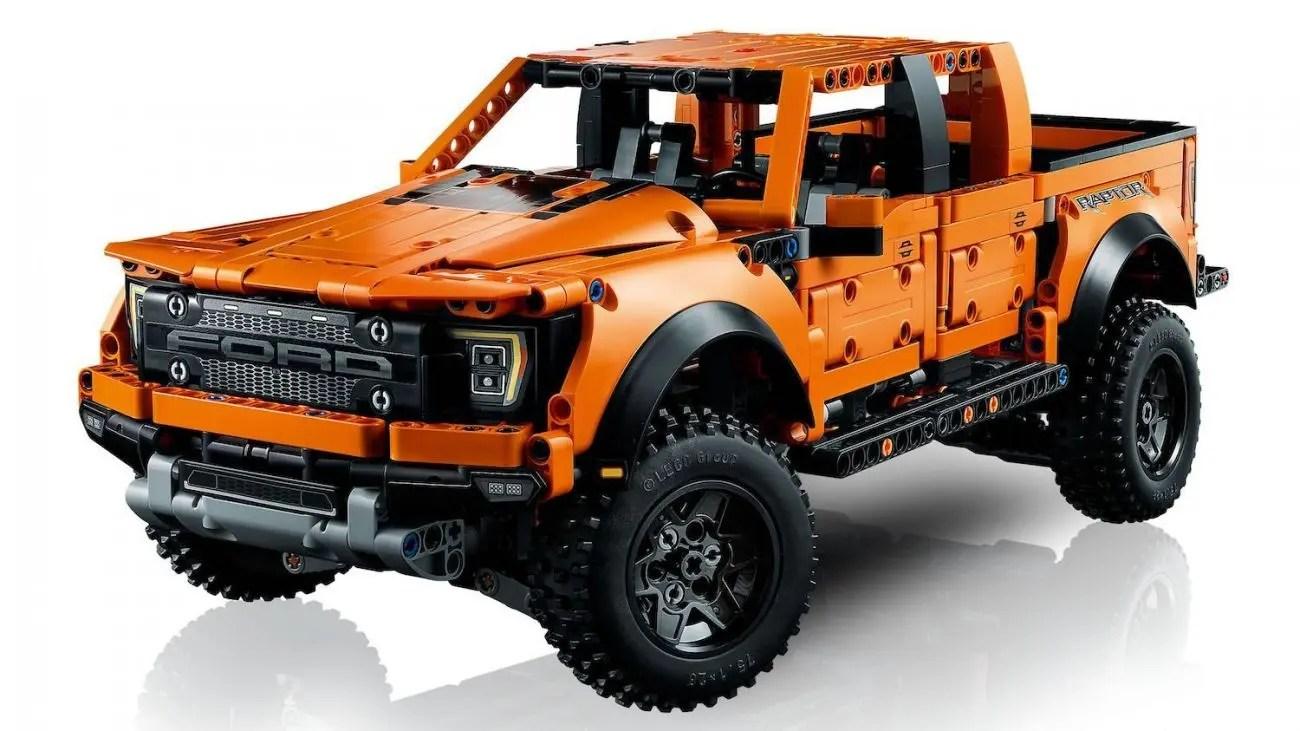 "Front suspension travel capability and 12.1"" Lego 42126 Ford F 150 Raptor Im Lego Online Shop Vorbestellbar"