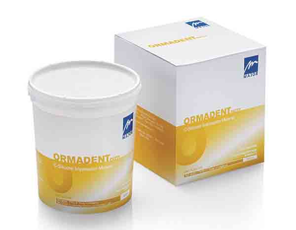 ORMADENT PUTTY SANS CATALYSEUR.
