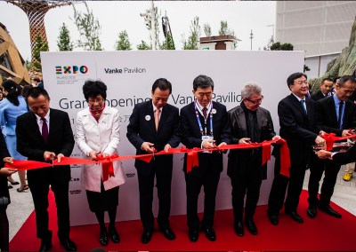 GRAND OPENING CEREMONY VANKE PAVILION EXPO 2015