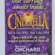 Cinderella Pantomine Seed Packet