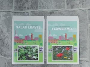 Promoflowers Salad Leaves Flower Mix