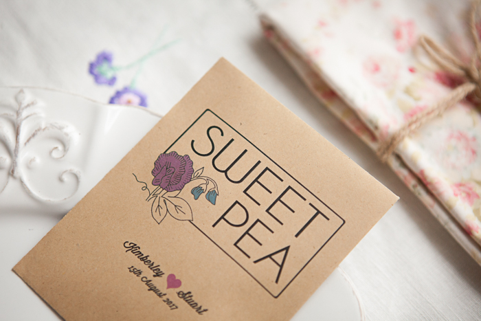 Sweet Pea Wedding Favour (2)