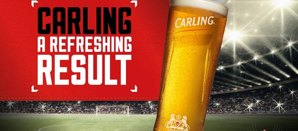 Molson Coors, one of the UK's biggest brewers, has revealed its promotional plans for Carling in the lead up to 2016's 'summer of football'.