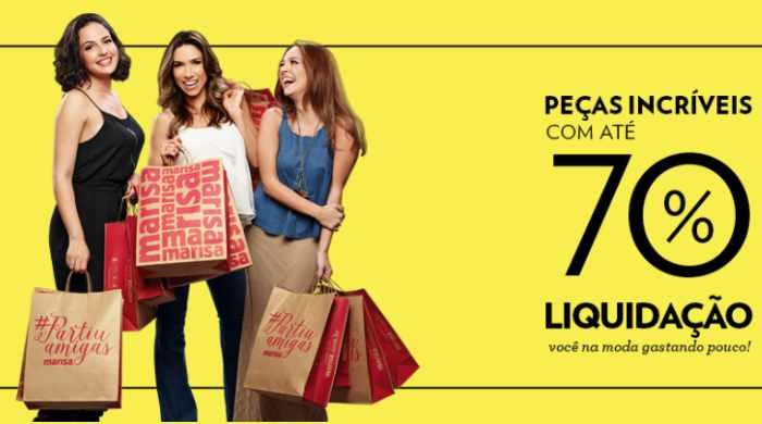 Lojas Maria realiza Liquidação a Preço de Banana