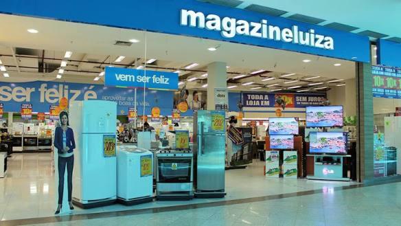 Liquidação das lojas Magazine Luiza