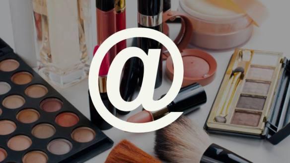 Compras online de maquiagens e cosméticos