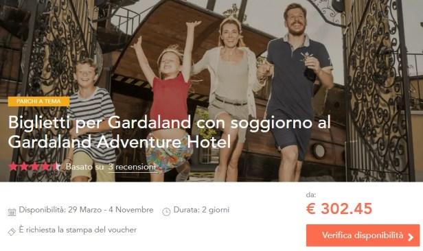 Offerte Gardaland Hotel + Colazione + Biglietto Ingresso