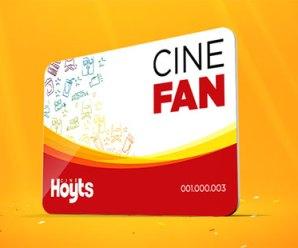 CINE FAN: promoción de suscripción 4 entradas a $155
