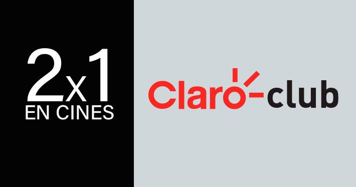 2x1 En Cines Con Claro Club Promociones En Cines
