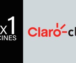 2×1 en cines con Claro Club